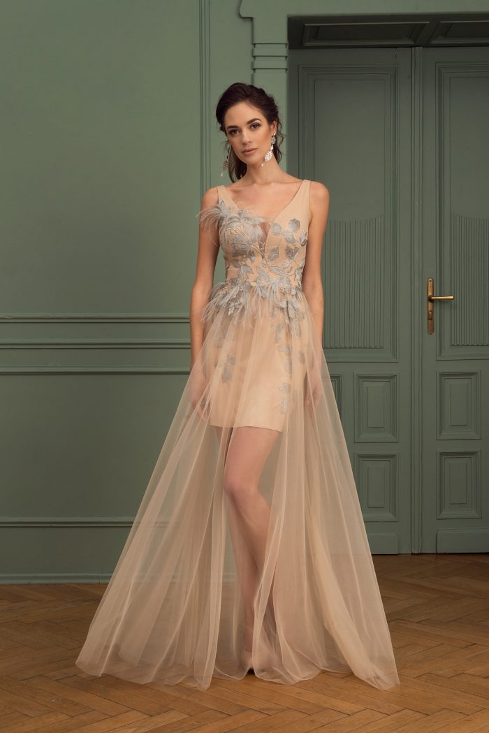 Suknia wieczorowa 1/2020 - Przód