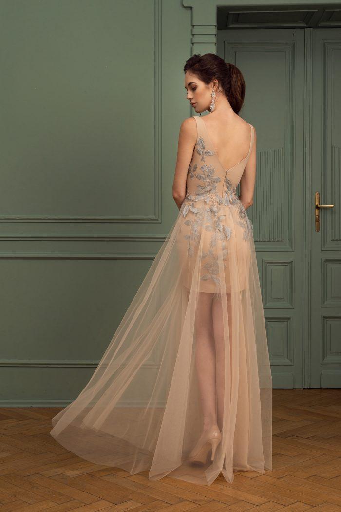 Suknia wieczorowa 1/2020 - Tył
