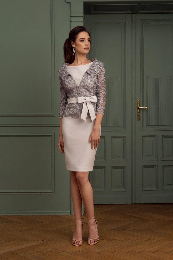 Suknia wieczorowa 4/2020 - Przod komplet