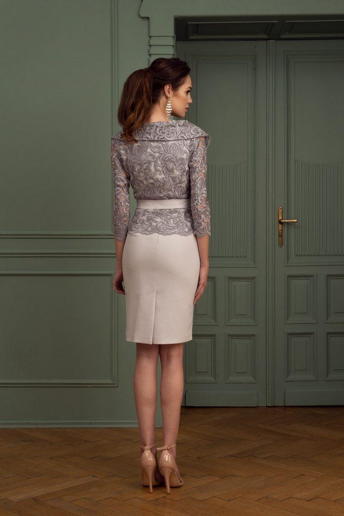 Suknia wieczorowa 4/2020 - Tyl komplet