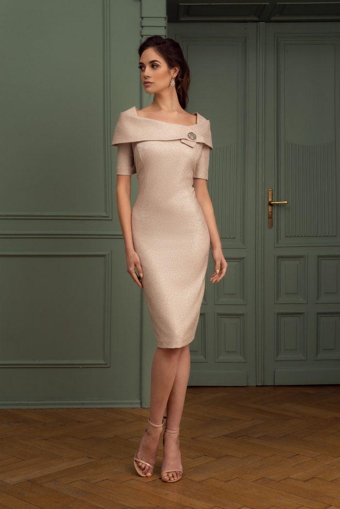 Suknia wieczorowa 10/2020 - Przód