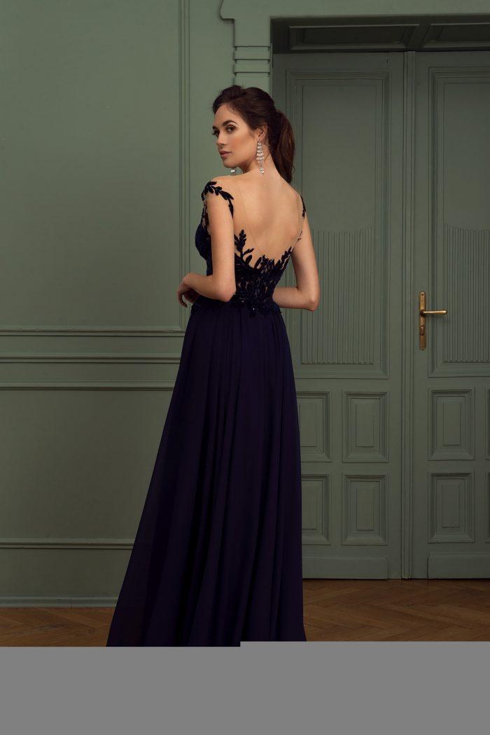 Suknia wieczorowa 21/2020 - Tył