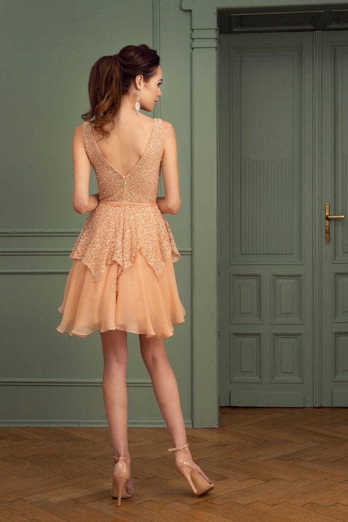 Suknia wieczorowa 29/2020 - Tył