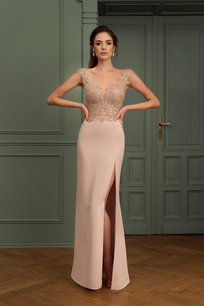 Suknia wieczorowa 36/2020 - Przód