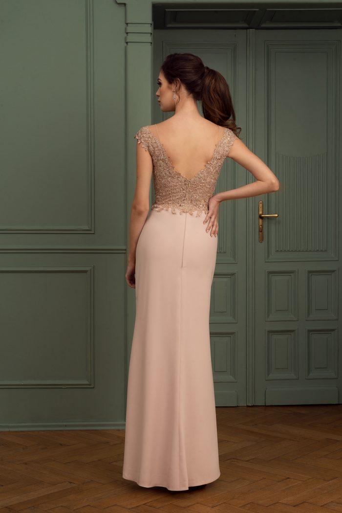 Suknia wieczorowa 36/2020 - Tył