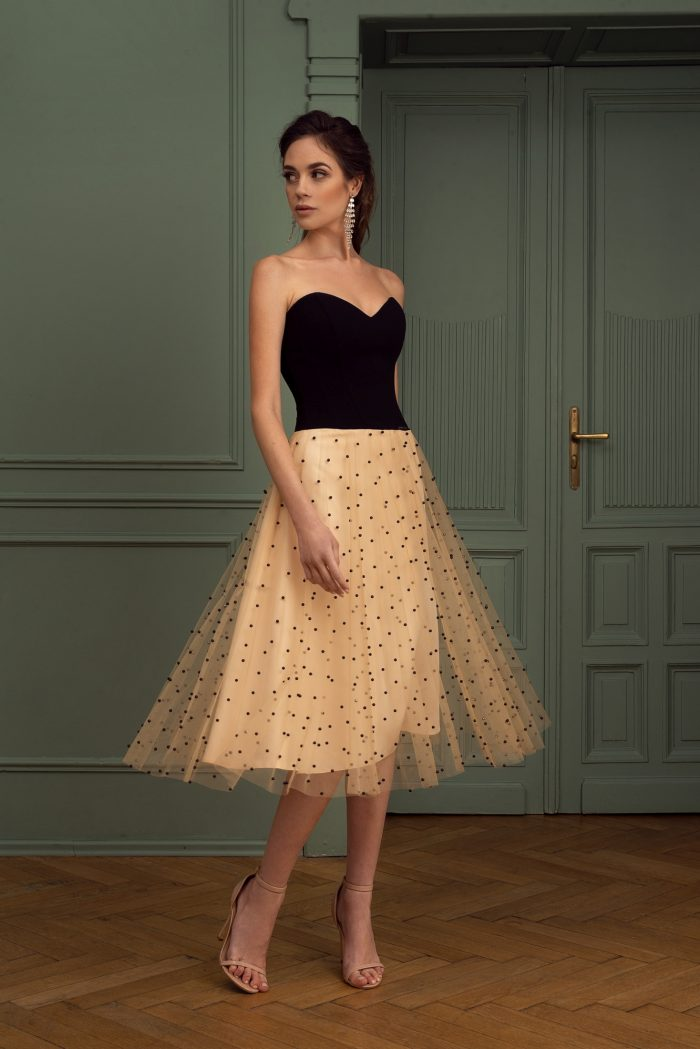 Suknia wieczorowa 39/2020 - Przód