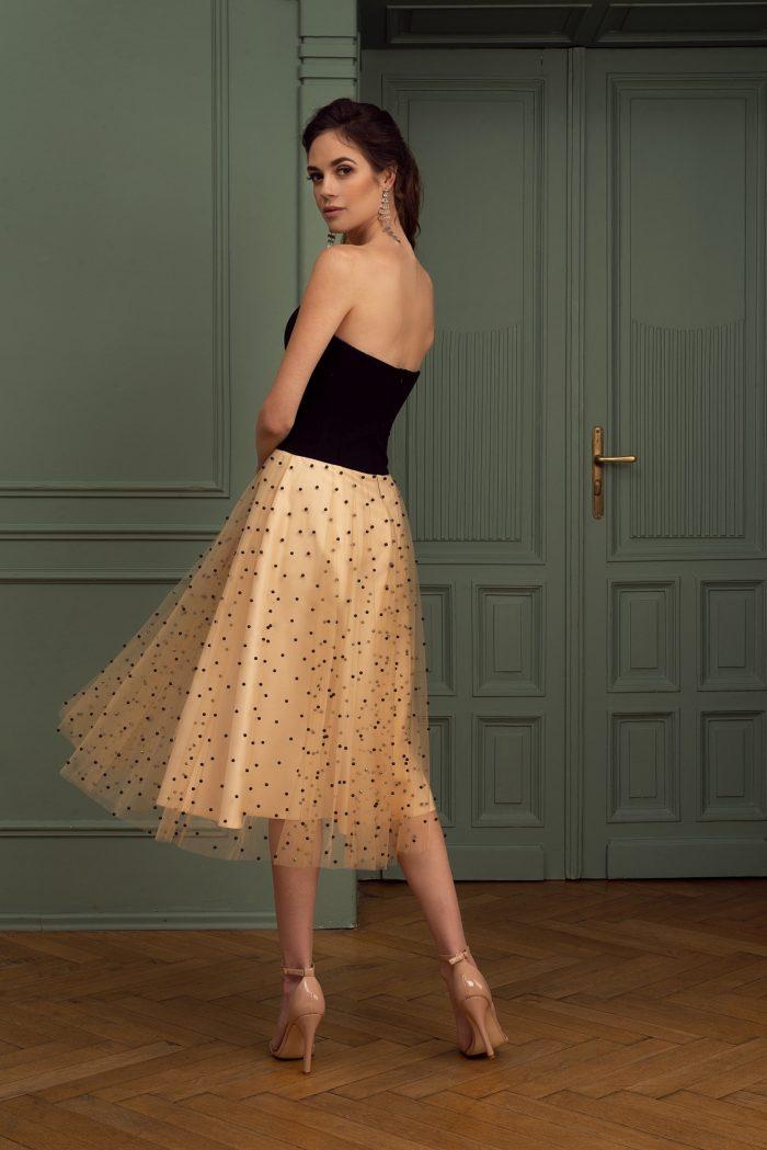 Suknia wieczorowa 39/2020 - Tył