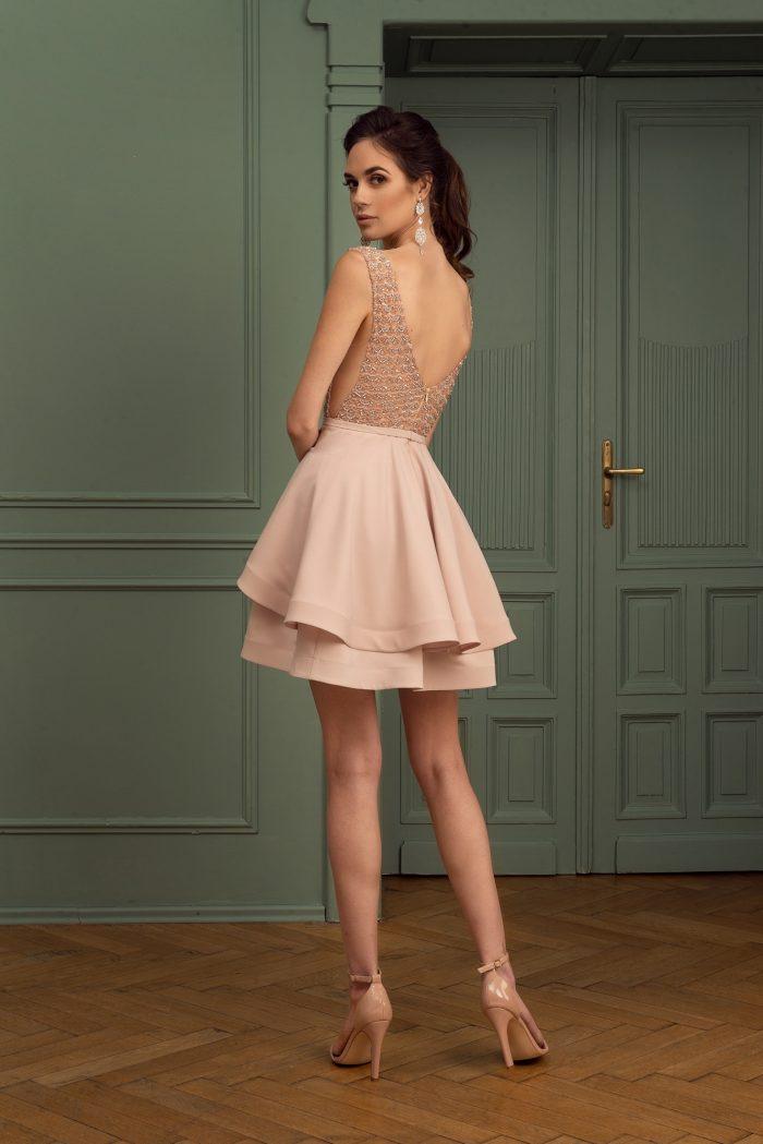 Suknia wieczorowa 42/2020 - Tył