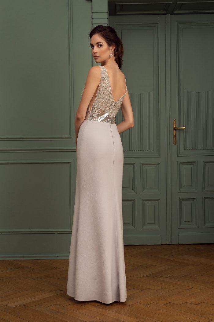 Suknia wieczorowa 43/2020 - Tył