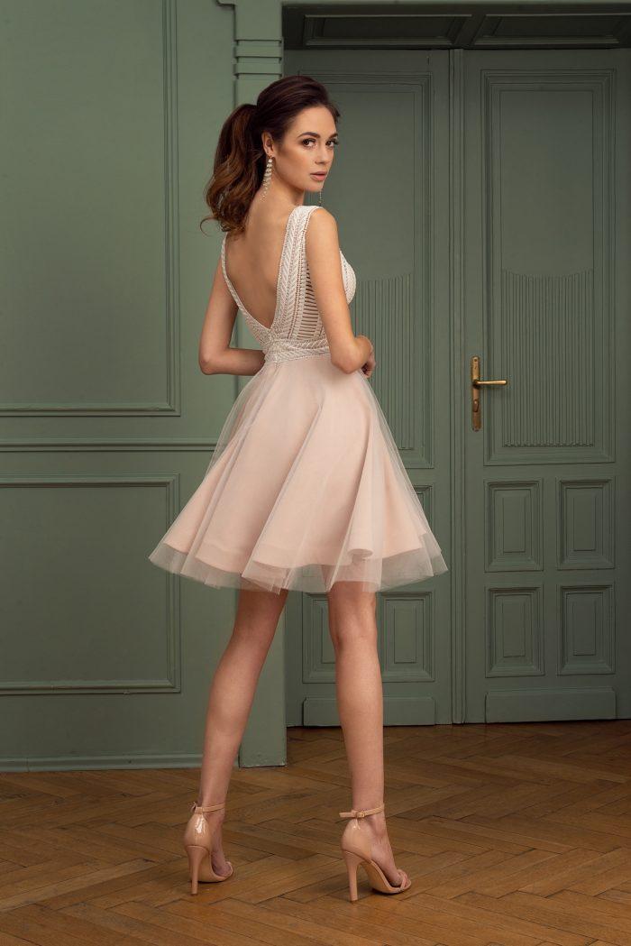 Suknia wieczorowa 44/2020 - Tył