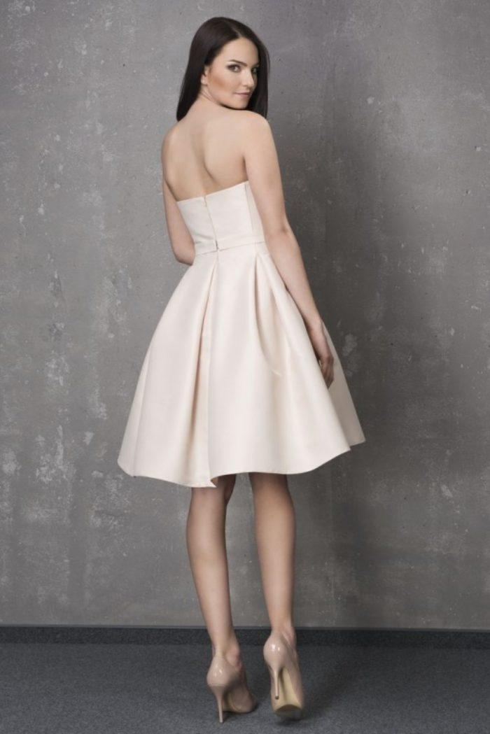 Sukienka weselna 1/2015 - Tył