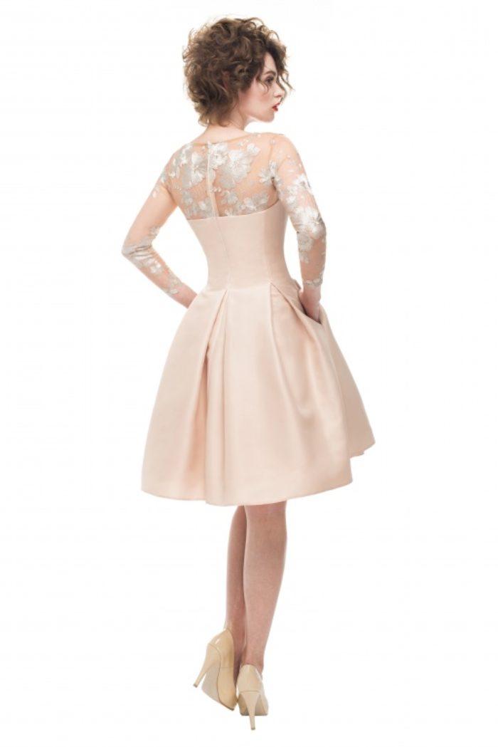 Sukienka weselna 14/2016 - Tył