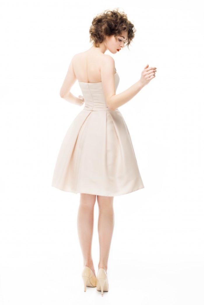Sukienka weselna 2/2016 - Tył