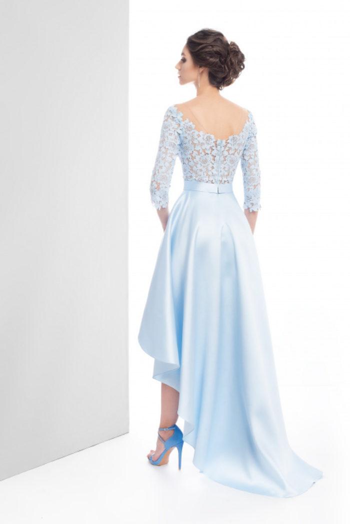 Sukienka weselna 27/2019 - Tył