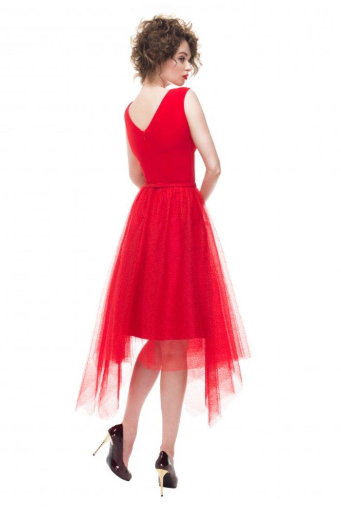 Sukienka weselna 31/2016 - Tył