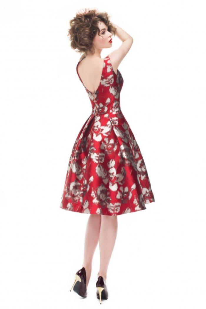 Sukienka weselna 32/2016 - Tył