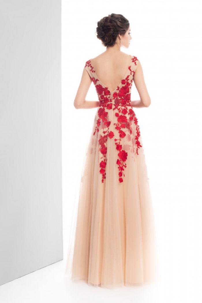 Sukienka weselna 42/2019 - Tył