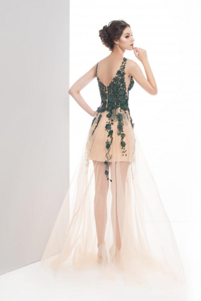 Sukienka weselna 43/2019 - Tył