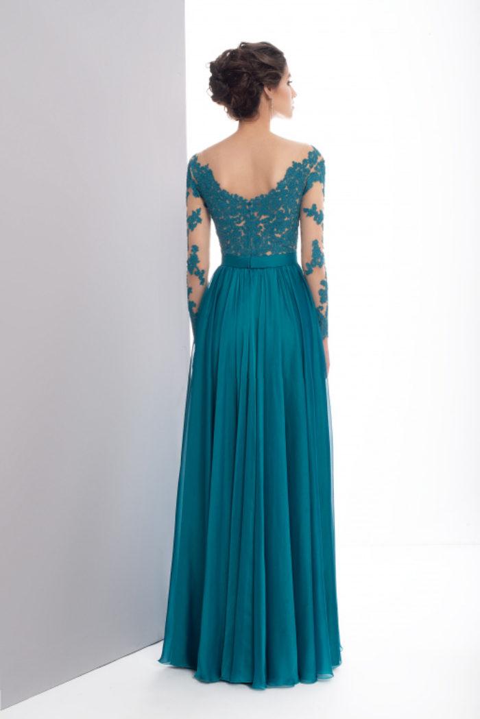 Sukienka weselna 48/2019 - Tył